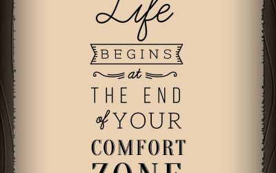 Why you should leave your comfort zone